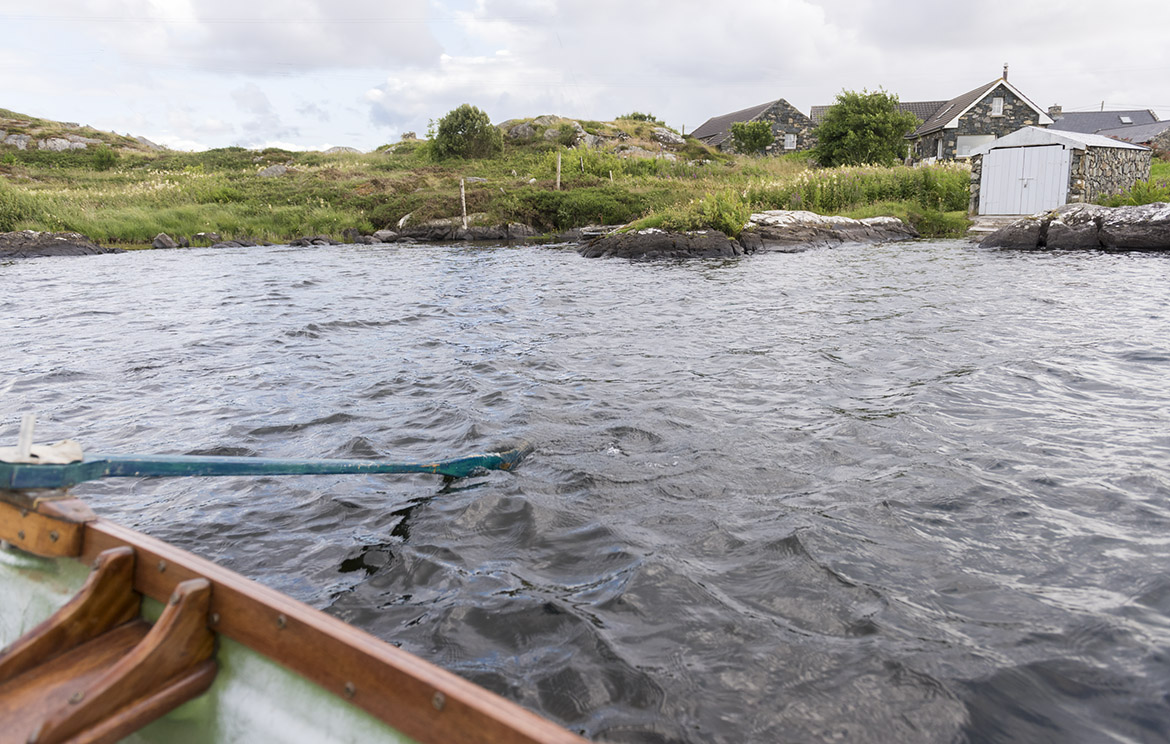 Irish rental cottage with private boat facilities available for vacation stay in Ireland